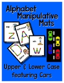 Cars  -  Manipulative Mats Upper & Lower Case Letters  Fin