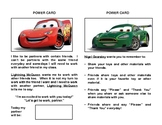 Cars Power Cards