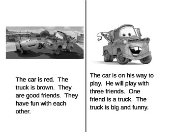 Cars Primer Level Reader