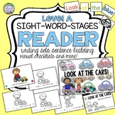 Cars Sight Word Leveled Reader, Activities | Distance Learning