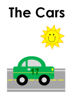 Cars Sight Word Book