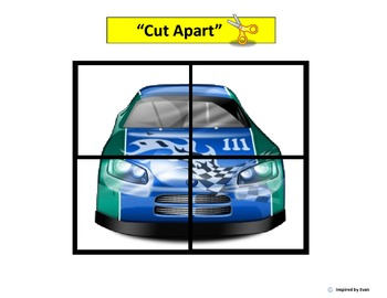 """""""Cars"""" Simple Puzzles for Autism"""