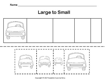 Cars - Small to Large / Large to Small