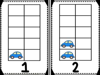 Cars Vertical Tens Frames Pack