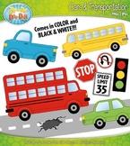 Cars & Transportation Clipart {Zip-A-Dee-Doo-Dah Designs}