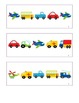 Vocabulary and Literacy Activities for Transportation