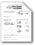 Cars, Trucks, and Buses (Thinking Skills)