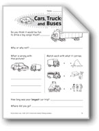 Cars, Trucks, and Buses (Thinking Skills)