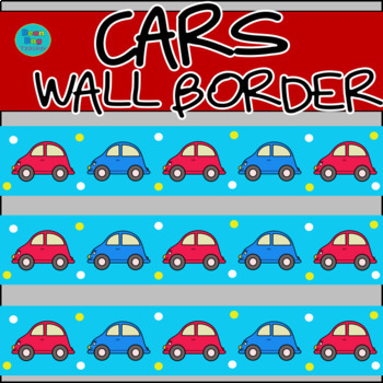 Cars Wall Border / Bulletin Board Display Border