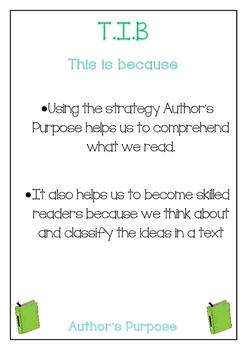 Cars and Stars Reading Strategy Posters - WALT, WILF, TIB - Rainbow Books