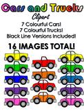 Cars and Trucks Clip Art