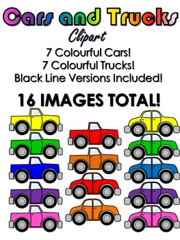 Cars and Trucks Clip Art
