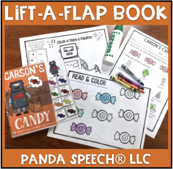 Carson's Candy: An Interactive & Adaptive Book