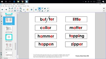 LLI Second Edition Blue Kit SMART Notebook Lessons 91-100