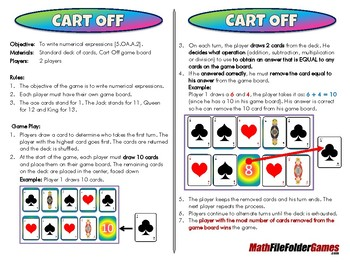 Cart Off - 5th Grade Game [CCSS 5.OA.A.2]