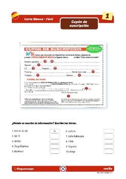 Carta Blanca 3 (Fácil)