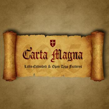 Carta Magna -Gothic fonts-