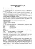 Carta Padres Otoño / Year 5 (Spanish Literacy)