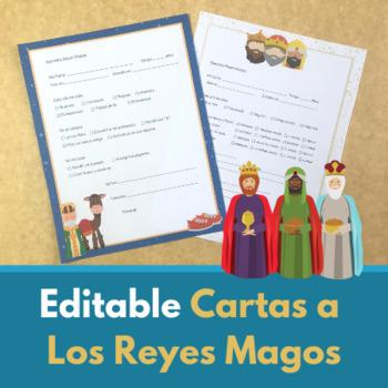 Carta a Los Reyes Magos (Editable Templates)