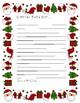 Carta a Papá Noel en Navidad/ Christmas/freebie