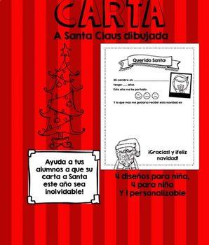 Carta a Santa Claus Dibujada