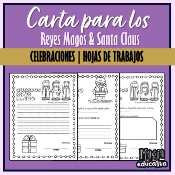 Carta a Santa y los Reyes Magos