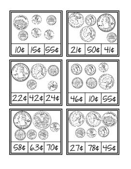 Carta de monedas