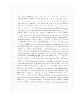 Carta presentación material de lectura