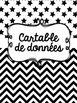 Cartable de données (FRENCH data binder) - EDITABLE