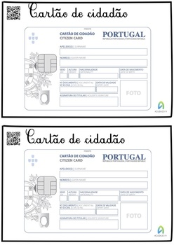 Cartão de Cidadão [para meninos e meninas de todas as idades]