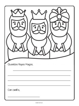 Cartas a los Reyes Magos- Letters to the 3 Kings