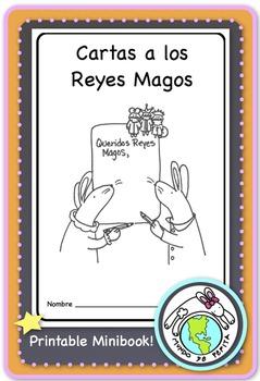Cartas a los Reyes Magos Kings Day Epiphany Spanish Printable Minibook