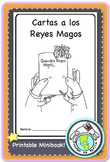 Cartas a los Reyes Magos Kings Day Epiphany Spanish Printable Minibook