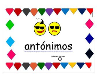 Cartas de Antónimos y Sinónimos