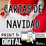 Cartas de Navidad- 4 Days of Materials & Lesson Plans for