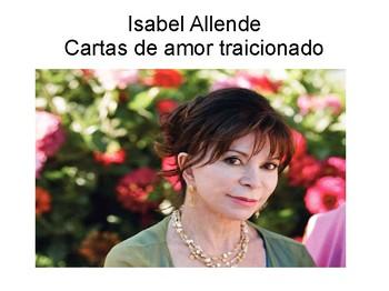 Cartas de amor traicionado por Isabel Allende
