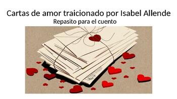 Cartas de amor traicionado por Isabel Allende (PPT to review)