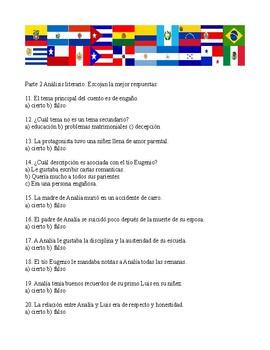 Cartas de amor traicionado por Isabel Allende (Quiz)