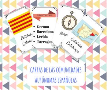 Cartas de comunidades autónomas españolas