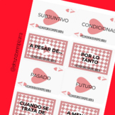 TENSES & EXPRESSIONS CARDS (SPANISH) - CARTAS TIEMPOS Y EX