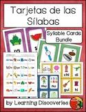 Tarjetas de las Silabas - Spanish Syllable Cards Bundle