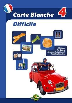 Carte Blanche 4 (Difficile)