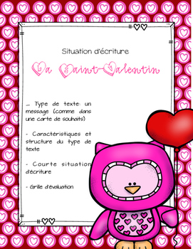 ÉCRITURE carte Saint-Valentin - FREEBIE