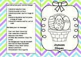 Carte de Paques French Easter Card