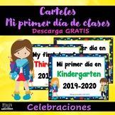 Cartel Primer Día de Clases (GRATIS) | Poster First Day of School (FREE)