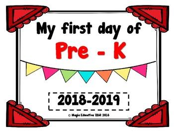 Cartel Primer Día de Clases (GRATIS)   Poster First Day of School (FREE)