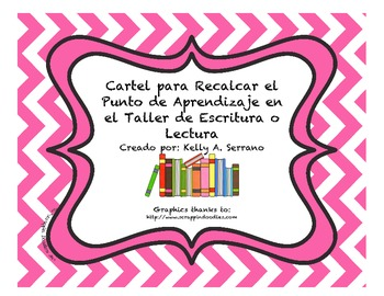 Teaching Point Poster in Spanish ( FREEBIE )
