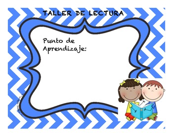 Teaching Point Poster in Spanish ( FREEBIE )