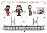 Cartel para conteo de asistencia - Maestra