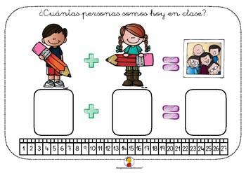 Cartel para conteo de asistencia (Sólo alumnos)